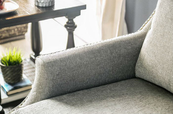 Madalyn Sofa Gray Contemporary Sofa Shack
