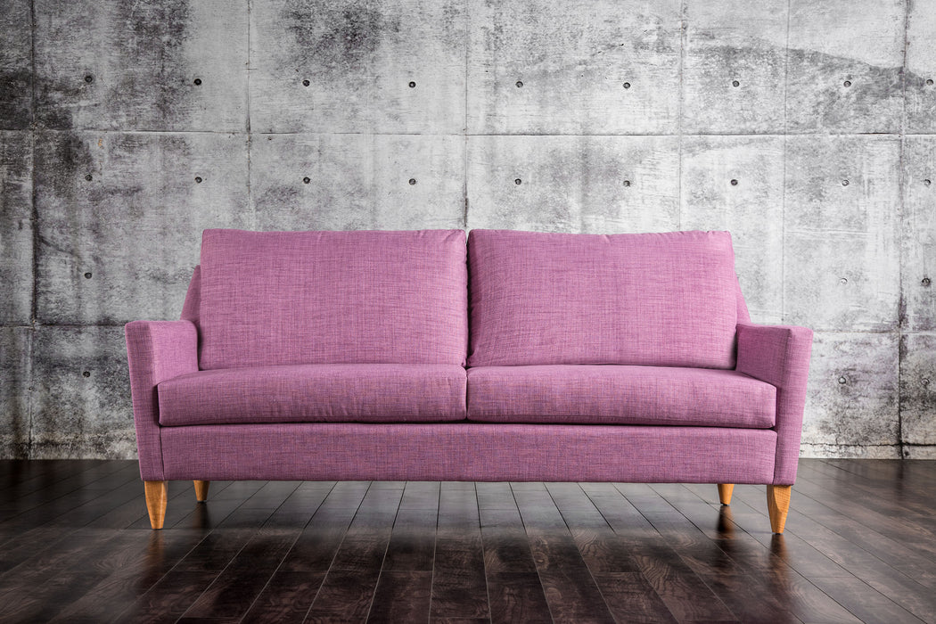 Marilyn Fabric Purple Mid-Century Modern Sofa