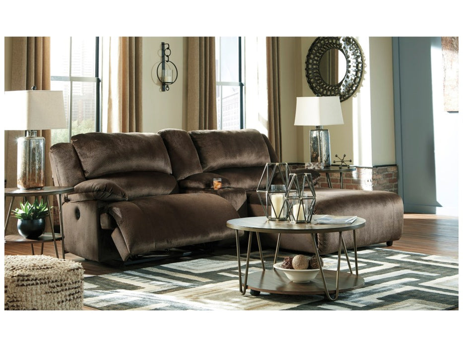 CLONMEL 3-PIECE RECLINING SECTIONAL WITH LAF CHAISE AND POWER