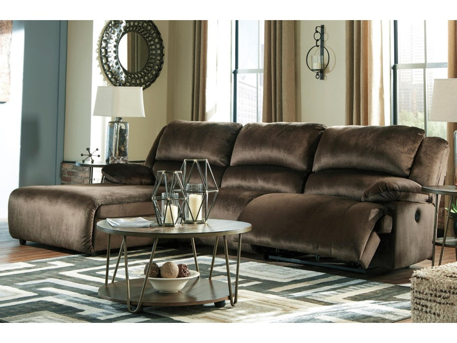 CLONMEL 3-PIECE LAF RECLINING SECTIONAL