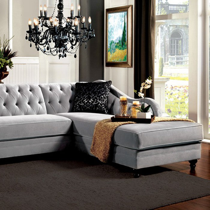 Rotterdam Fabric Traditional Sectional