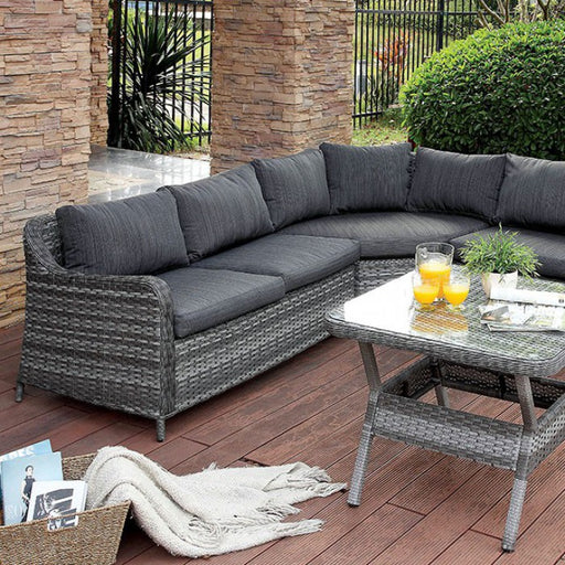 Selina Patio Sectional With Table