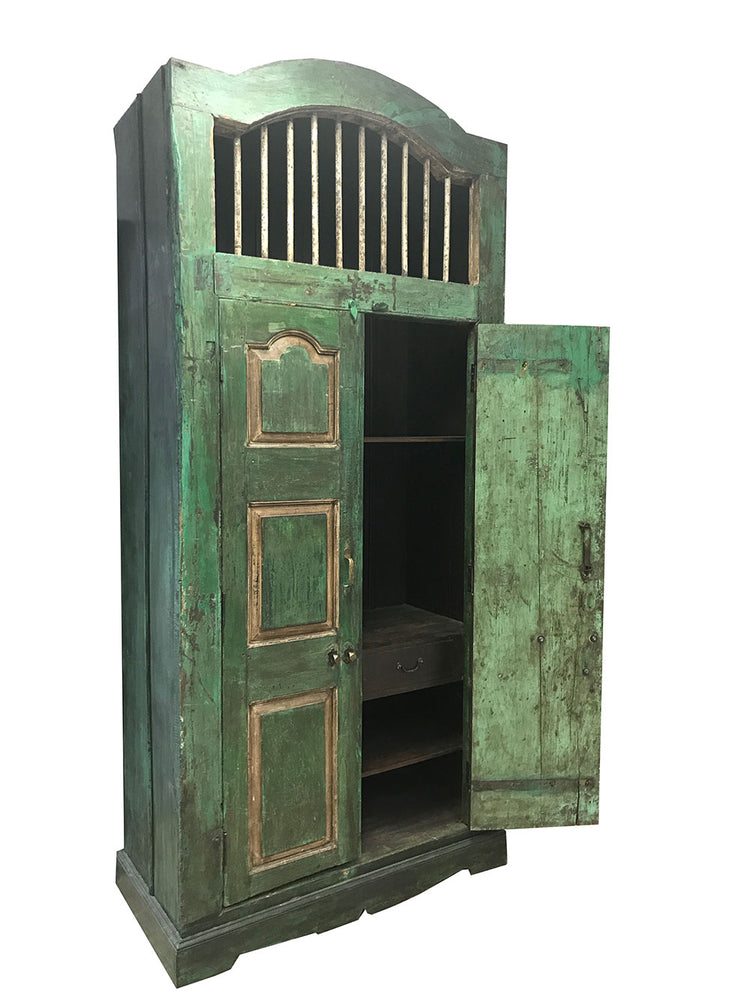 IMPORTED SOLID WOOD ARMOIRE