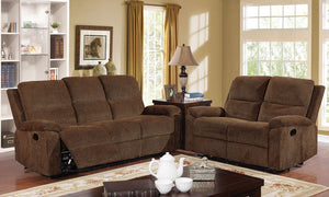 Tempe  Brown Transitional Sofa