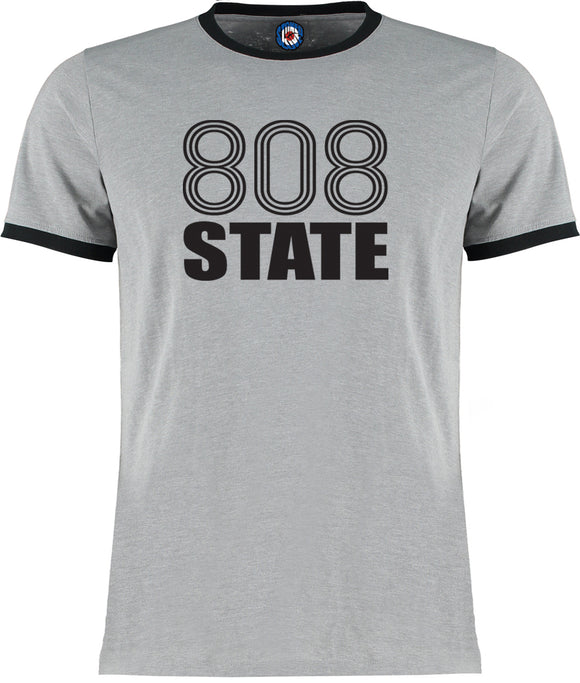 808 State Ringer T-Shirt - 5 Colours