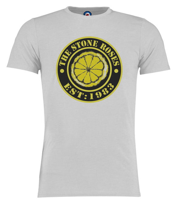 Established 1983 Lemon Stone Roses T-Shirt