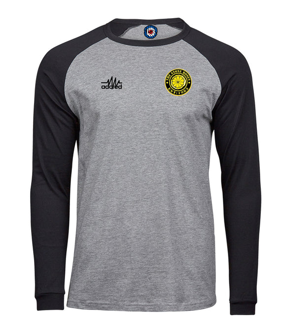 Stone Roses Est 1983 Long Sleeve Baseball T-Shirt