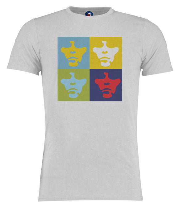 Ian Brown Stone Roses Andy Warhol Pop Art T-Shirt