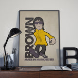 Ian Brown Designed By Parka Monkey T-Shirt - 7 Colours