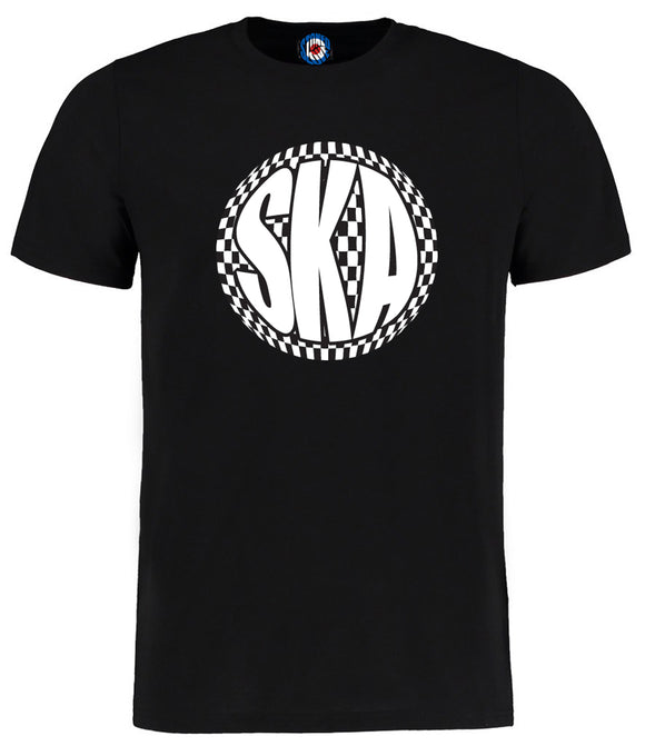 SKA Black & White Ball T-Shirt