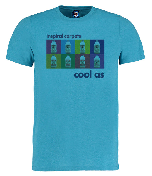 Cool As Milk Inspiral Carpets Andy Warhol Pop Art T-Shirt
