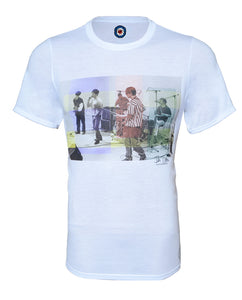 Ian Tilton Stone Roses Collection Waterfall T-Shirt #SL2