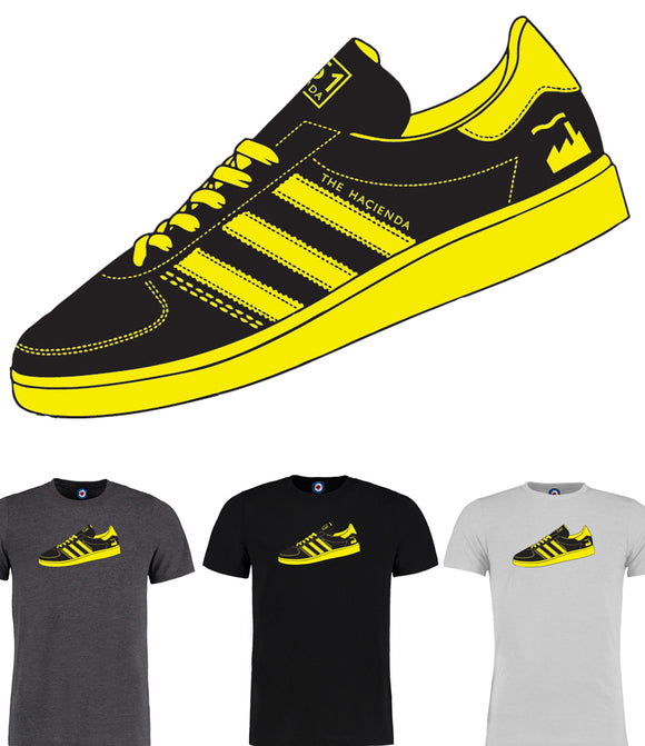 The Hacienda Trainer T-Shirt - 7 Colours