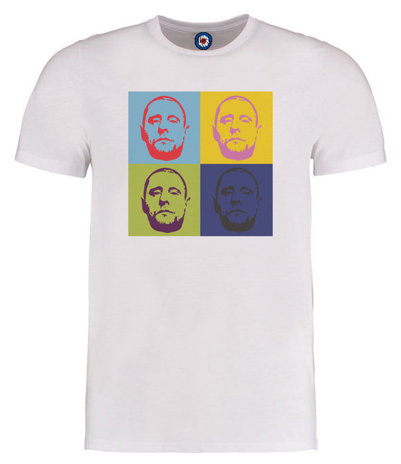 Happy Mondays Shaun Ryder Andy Warhol Pop Art T-Shirt