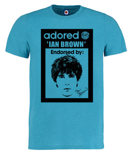 Adored Stone Roses Ian Brown T-Shirt