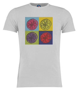 Lemon Stone Roses Andy Warhol Pop Art T-Shirt