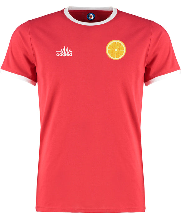 Lemon Adored Ringer T-Shirt - 5 Colours stone roses