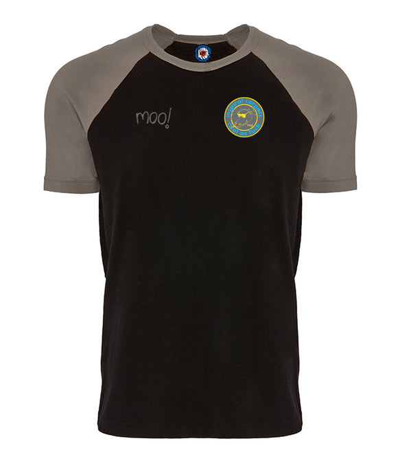 Inspiral Carpets Cool As......Moo Baseball Raglan T-Shirt