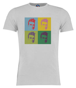 Morrissey The Smiths Andy Warhol Pop Art T-Shirt