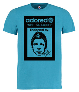 Oasis Noel Gallagher adored t shirt