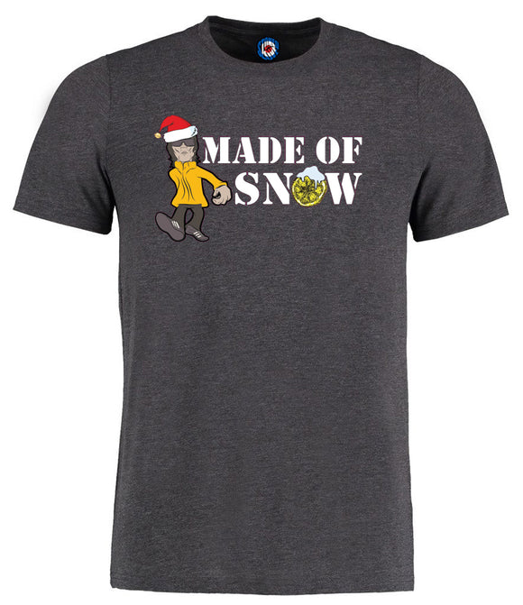 Made Of Snow Christmas Ian Brown Parka Monkey T-Shirt - 7 Colours