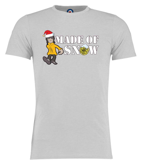 Made Of Snow stone Christmas Ian Brown stone roses t shirt