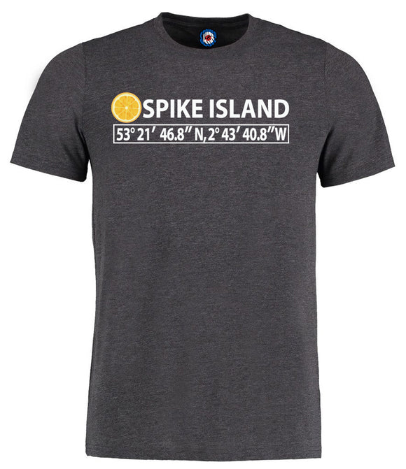 Stone Roses Spike Island Coordinates I Was There T-Shirt