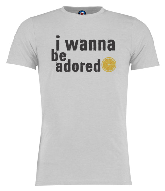 I Wanna Be Adored Lyrics Stone Roses T-Shirt