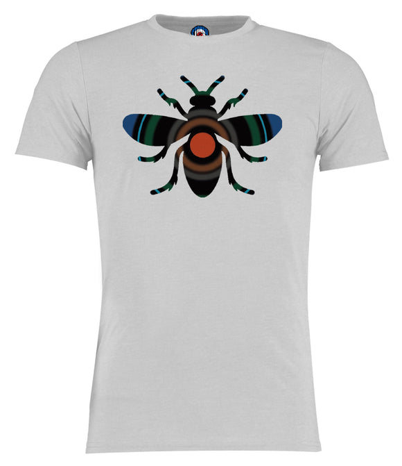 Blue Monday Manchester Bee Inverse T-Shirt - Adults & Kids Sizes