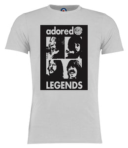 Adored The Beatles Legends Pop Art T-Shirt