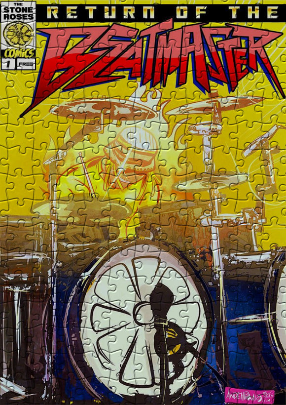 Beat Master Reni Stone Roses Super Hero Comic Jigsaw Puzzle - 384 Pieces - Size A3 (40x29cm)