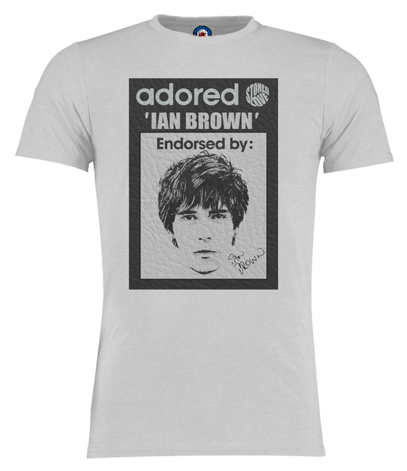 Stone Roses Adored Ian Brown Pop Art T-Shirt - Adults & Kids Sizes