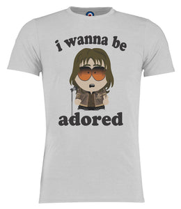 I Wanna Be Adored Ian Brown South Park Style Stone Roses T-Shirt