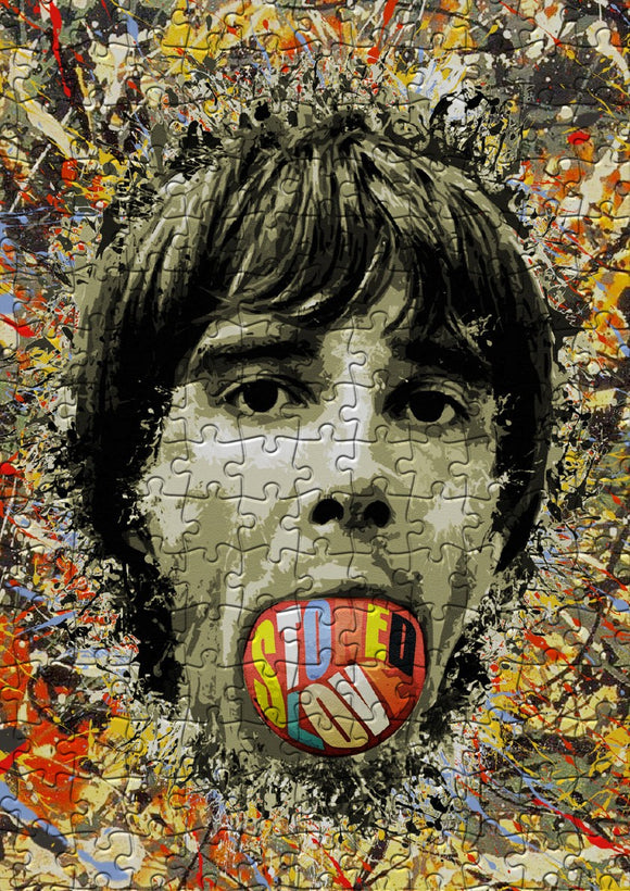 Ian Brown Stoned Love Jigsaw Puzzle - Size A3 (40x29cm)  - 384 Pieces