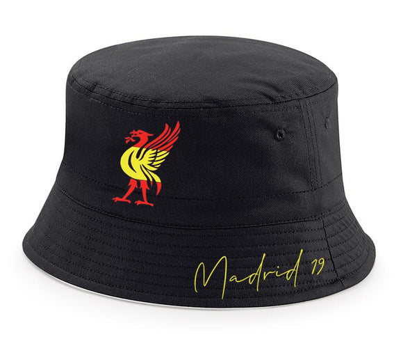 Liverpool Madrid 2019 Champions League Bucket Hat