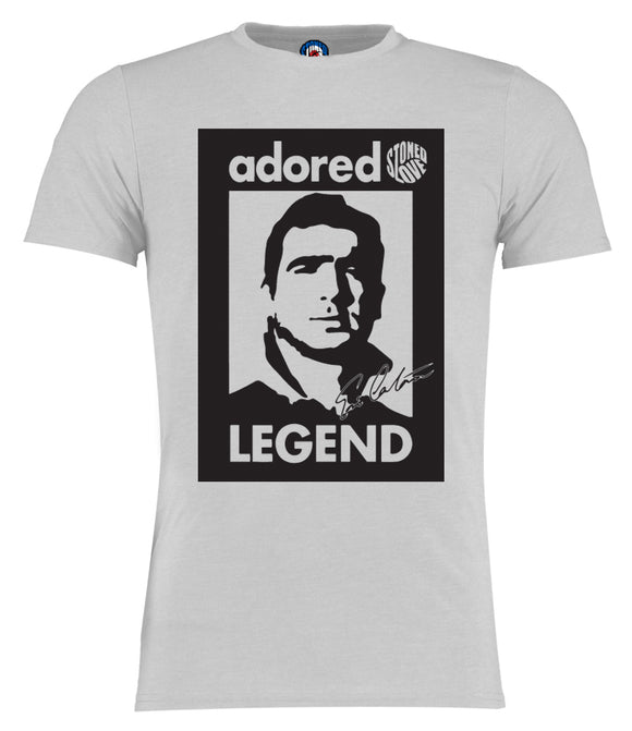 Adored Eric Cantona Manchester United Legend T-Shirt