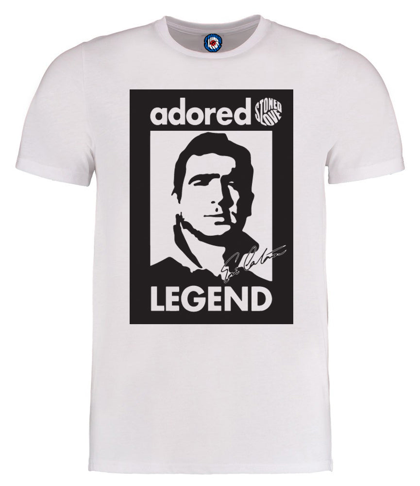 Adored Eric Cantona Legend T Shirt 5 Colours Stoned Love Clothing
