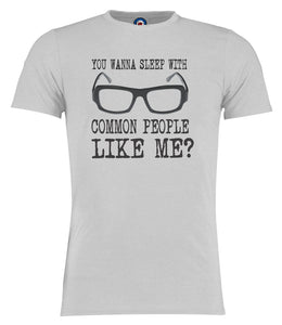 Sleep With Common People Jarvis Cocker Pulp T-Shirt