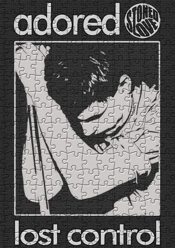 Adored Ian Curtis Jigsaw Puzzle - 384 Pieces - Size A3 (40x29cm)