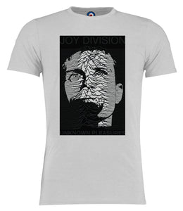 Joy Division Ian Curtis Unknown Pleasures (D1) T-Shirt - Adults & Kids Sizes