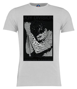 Joy Division Ian Curtis Unknown Pleasures (D2) T-Shirt - Adults & Kids Sizes