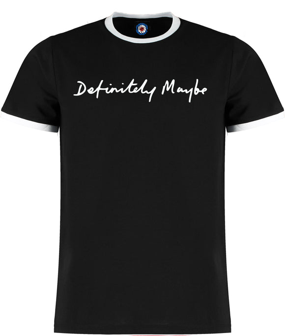 Definitely Maybe Ringer T-Shirt - 5 Colours