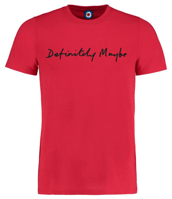 Definitely Maybe Oasis T-Shirt - 6 Colours