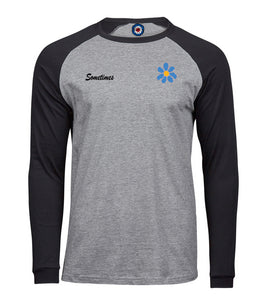 Sometimes Daisy Long Sleeve Baseball T-Shirt
