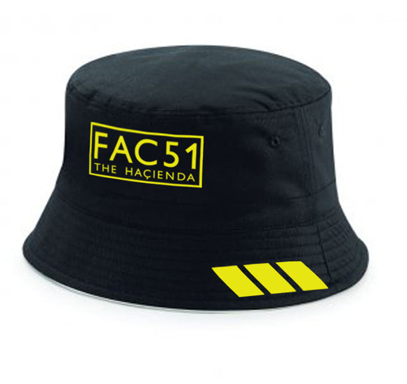 Fac 51 The Hacienda Madchester Bucket Hat