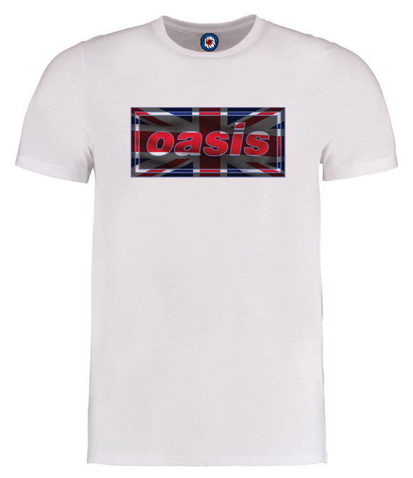 Oasis Brit Flag T-Shirt