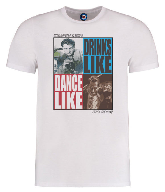 James Getting Away With It Richard Burton John Travolta T-Shirt
