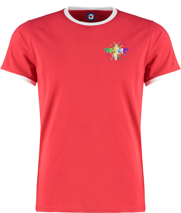 James Manchester Bee Quality Ringer T-Shirt - 5 Colours