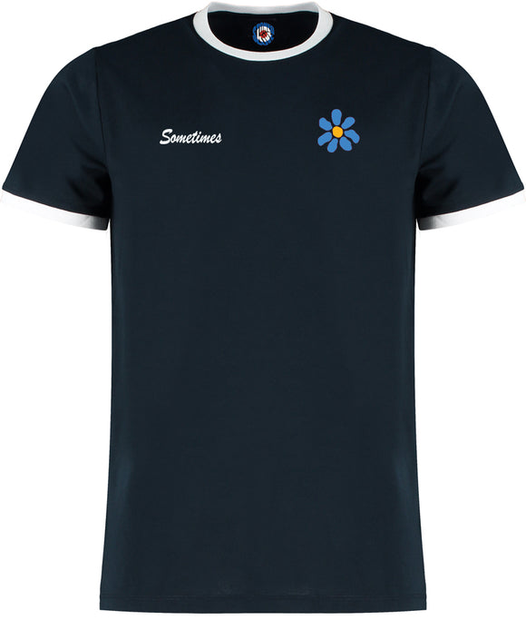 James Sometimes Daisy Quality Ringer T-Shirt - 5 Colours