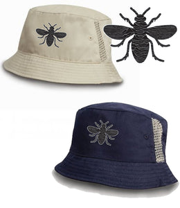 Joy Division Manchester Bee Ian Curtis Bucket Hat - 2 Colours